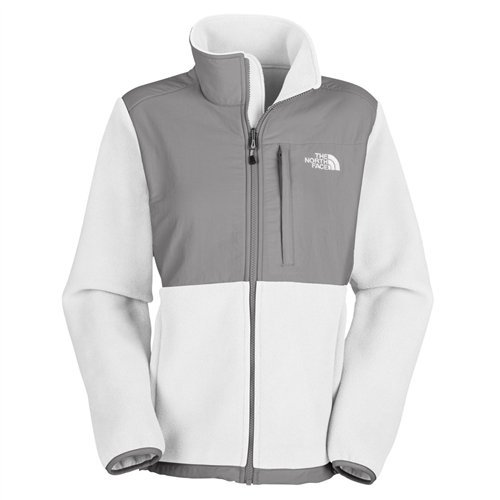 The North Face The North Face Womens Denali Jacket TNF White / Pache Grey ANLPE7E Size Large