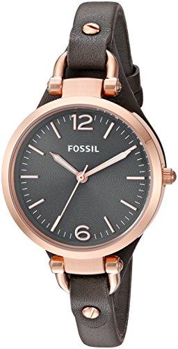 Fossil ES3077 - Orologio da polso, cinturino in pelle
