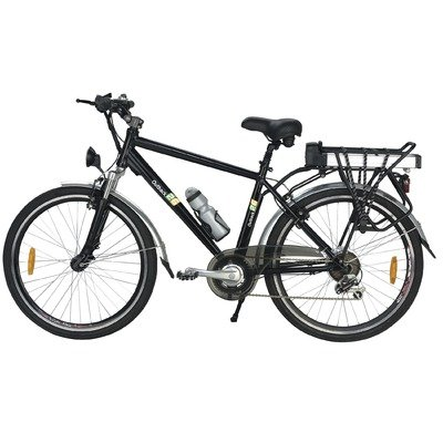 Buy Low Price Yukon Trails Electric Mountain Bike (26-Inch) (MS-EBLIS26)