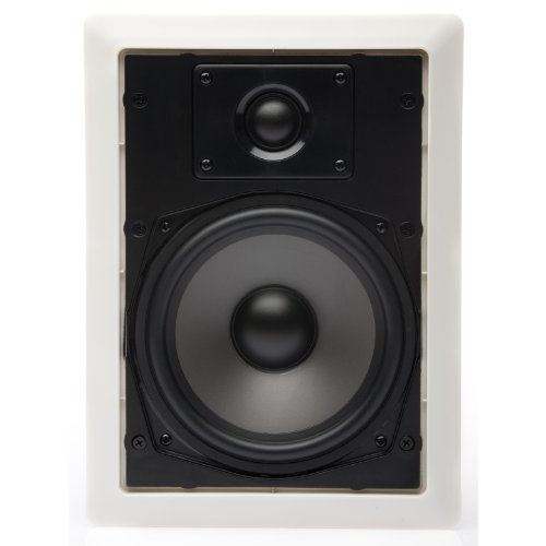 Martinlogan Ml-65 Rectangular In-Wall/In-Ceiling Speaker, Pair (Paintable White)