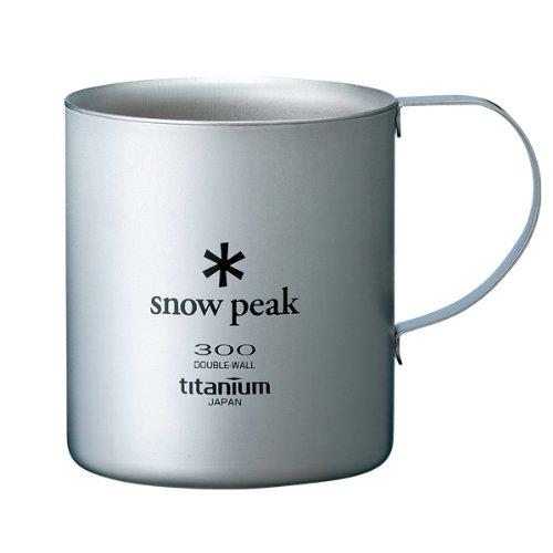 スノーピーク(snow peak) チタンダブルマグ 300 MG-052R