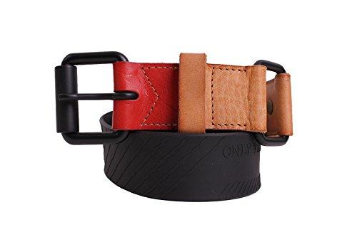 DIESEL - Cintura con cuoio FULLIVING - multicolore, 100