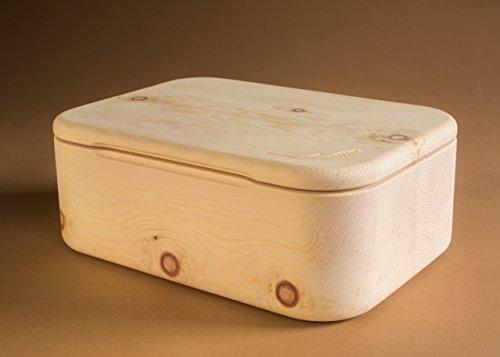 brotdose aus zirbenholz was. Black Bedroom Furniture Sets. Home Design Ideas