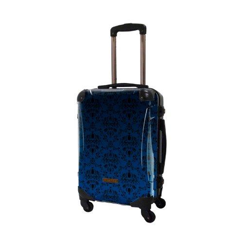 キャラート アートスーツケース ベージック ヴォイジュ (ネイビー) フレーム4輪 機内持込