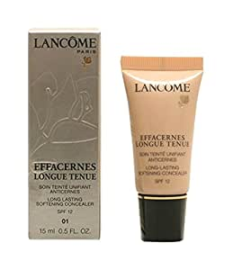 Lancome Effacernes Long Lasting Softening Concealer SPF12 01 Beige Pastel for Women, 0.5 Ounce