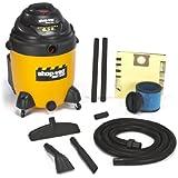Shop-Vac 9625410 6.25-Peak Horsepower Right Stuff Wet/Dry Vacuum, 22-Gallon