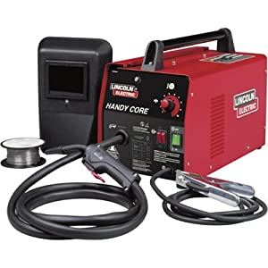 Lincoln Electric Handy Core 115V Flux Cored Welder Kit - 70 Amp Output, Model... by Lincoln Electric