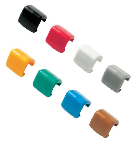 Fluke WC17XX Color Code Wire Clips, Volts/Amps Leads Assortment Bag, Large/Small