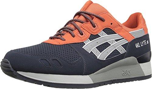 ASICS: Asics H628Y-5012: GEL-Lyte III 3 Indian-Ink/Grey 3M Premium Sneaker Youth/Adult (Men 9 = Women 10.5)
