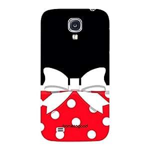 HomeSoGood Classic Girlie Fashion Multicolor 3D Mobile Case For Samsung S4 ( Back Cover)