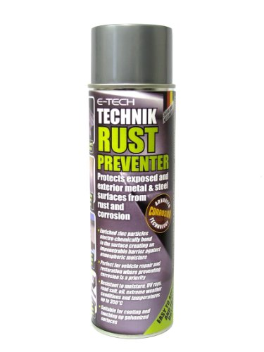 Rust & Corrosion Preventer (Protects exposed and exterior metal & steel surfaces)