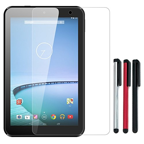 Birugear Premium Hd Crystal Clear Lcd Screen Protector + 3 Stylus For Hisense Sero 8 Tablet Pc New 8-Inch Ips Android 4.4 Kitkat Tablet