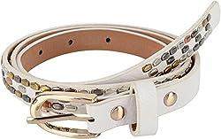 SRI Women's Belt White