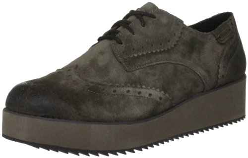 Pepe Jeans Women's Baker Grey Casual Lace Ups PFS10615 6 UK