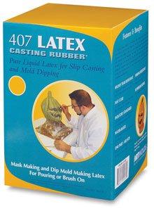 407 Latex Casting Rubber- Pure Liquid Latex