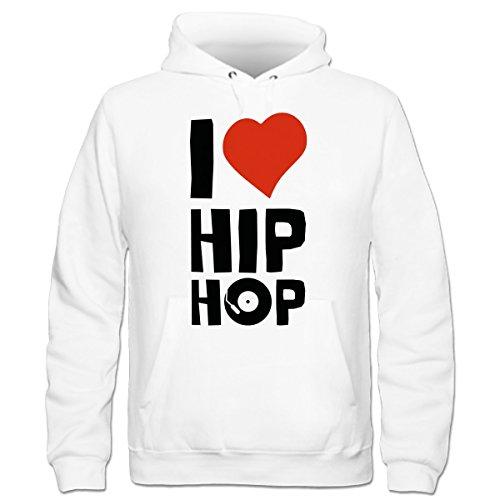 Shirtcity I Love Hip Hop Kinder Kapuzenpulli by Shirtcity