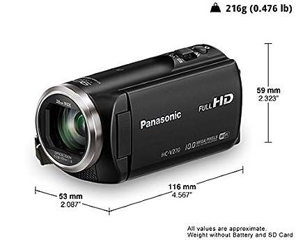 Panasonic-HC-V270-HD-Video-Camera-(Black)