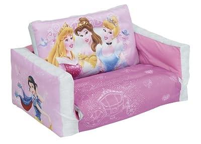 Worlds Apart 91edp01 Disney Princess Sofa Ausklappbar Aufblasbar Waschbarer Bezug bei aufblasbar.de