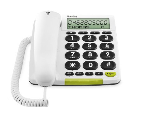 T�l�phone fixe DORO PHONEEASY 312CS BLANC