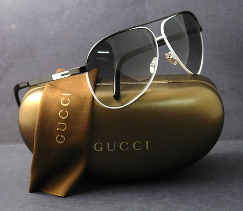 GUCCI SUNGLASSES GG 1827 WHITE N06ZR GG1827 AVIATOR