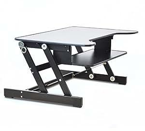 Amazon.com : ER Healthy Sit-stand Desktop Computer ...