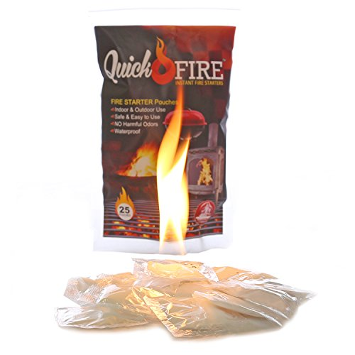 Find Cheap QuickFire, Instant Fire Starters. Waterproof, Odorless, Safe And Easy To Use. Survivalist...