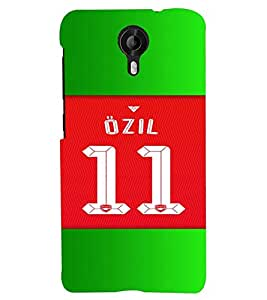 PRINTVISA Football Ozil Case Cover for Micromax Canvas Nitro 3 E455::Nitro 3 4G