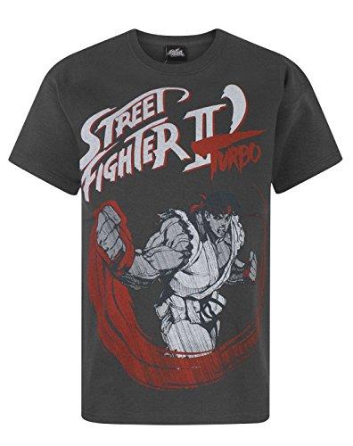 Street Fighter -  T-shirt - T-shirt con stampe - Maniche corte  - ragazzo Charcoal 9-10 Anni
