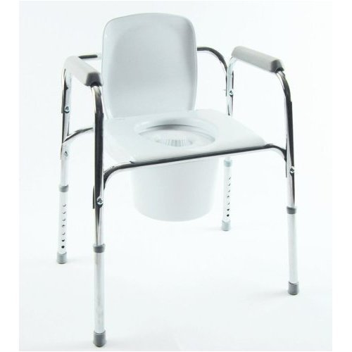 All-In-One Aluminum Commode (Drop-Ship only)All-In-One Aluminum Commode (Drop-Ship only)