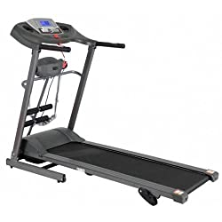Afton M5 - 4 in 1 Motorized Treadmill with Massager and Power Incline with service centres all over India