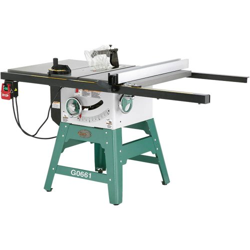 Grizzly Grizzly G0661 2 Hp Contractor Style Table Saw With Riving Knife 10 Inch Huge Discount