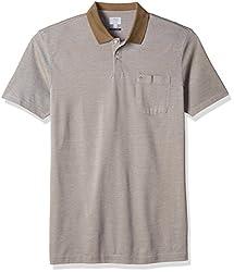 Arrow Men's Cotton (T-Shirt 98907259828725_AKRF8229_3XLHS_Lt. Brown)