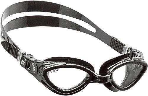 Cressi Fox Herren Schwimmbrille mit Antibeschlag und 100% UV Schutz - Made in Italy
