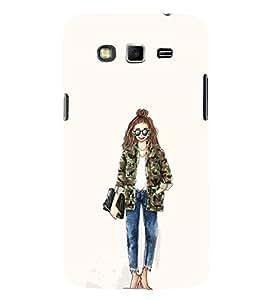 EPICCASE Cool girl Mobile Back Case Cover For Samsung Galaxy Grand (Designer Case)