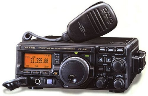 Yaesu FT-897D All-Mode HF thru UHF Transceiver AM-FM-CW-USB-LSB