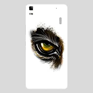 Back cover for Lenovo A7000 Tiger Eye