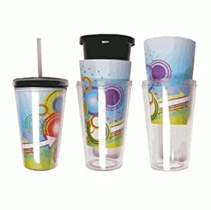 Amazon Com Eco To Go Cold Drink Tumbler Double Wall