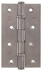SUZU SS 304 5 Inch Ball Bearing Hinge - (Silver)
