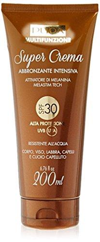 Pupa Multifunzione Super Crema Abbronzante Intensiva SPF 30 200 ml attivatore di melanina