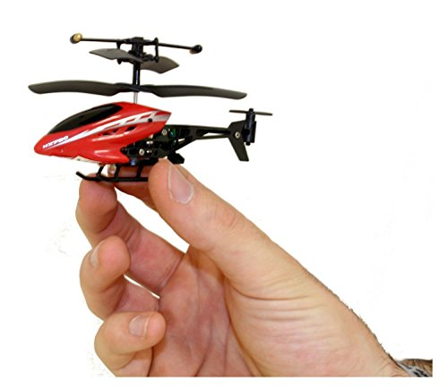 The Flyer's Bay Max Nano 3.5 Channel Nano Helicopter(Smallest Known) (Red)