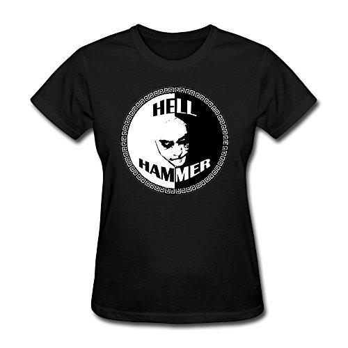 Donna's Hellhammer T-Shirt- Nero