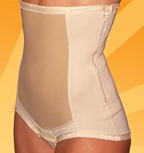 Postpartum Support Girdle Belt w/zipper Support Belly Band Medical-Grade Compression Bellefit