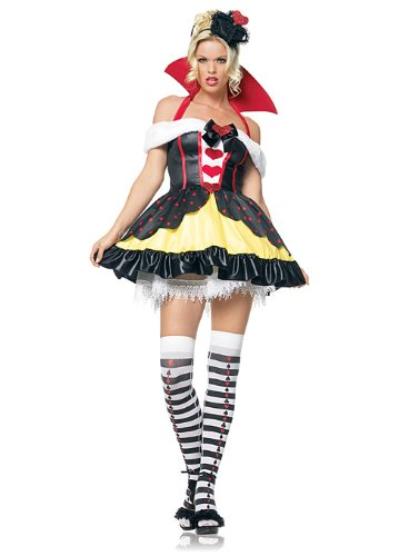 Leg Ave Women's Queen of Hearts Costume