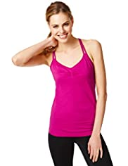 Active Performance Strappy Vest Top