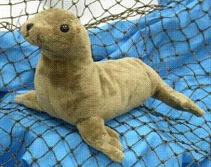 "Wishpets 8"" Sea Lion Plush Toy"