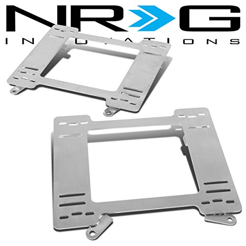 NRG Chevy Camaro/Pontica Firebird Tensile Stainless Steel Racing Seat Mounting Bracket (Left & Right) (Camaro Ss Racing Seats compare prices)