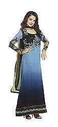 Adah Unstitched Georgette Salwar Kameez -449-5011