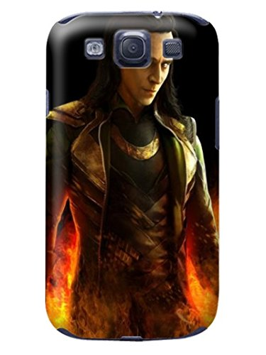 Fashion E-Mall Coolest TPU Logo case Top (Tom Hiddleston) Samsung Galaxy s3 Designer Cover