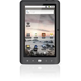 Coby Kyros 4 GB 7-Inch Tablet with Touchscreen and Android 2.2, MID7024-4G (Black)