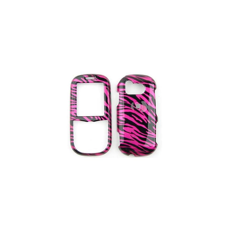 SAMSUNG Intensity u450 Transparent Design, Hot Pink Zebra
